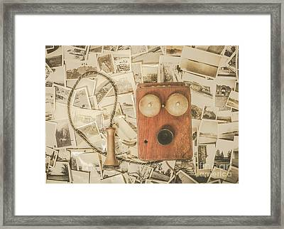 Recalling Memories Framed Print by Jorgo Photography - Wall Art Gallery