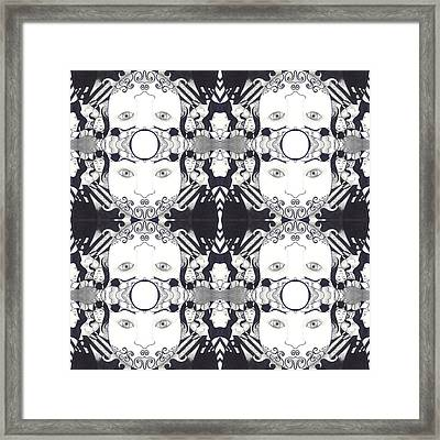 Recalling The Goddess 2 Tile Framed Print