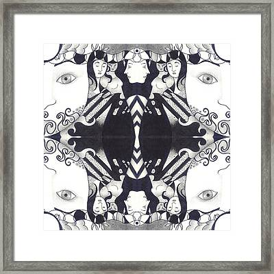 Recalling The Goddess 3 Framed Print