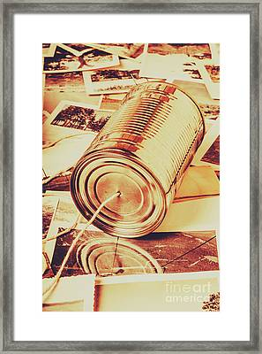 Recalling The Past Framed Print