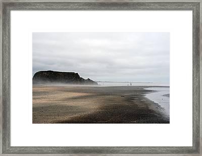 Receding Framed Print by Holly Ethan