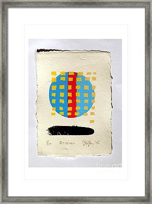 Receiver. Framed Print by Timothy Beighton