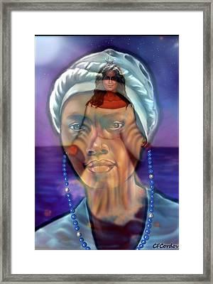 Receiving Yemaya's Blessing Framed Print