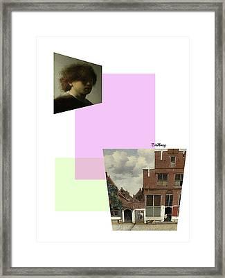 Recent 1 Framed Print