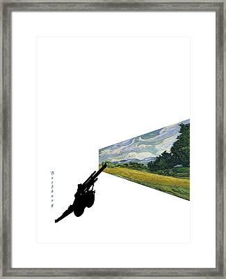 Recent 12 Framed Print by David Bridburg