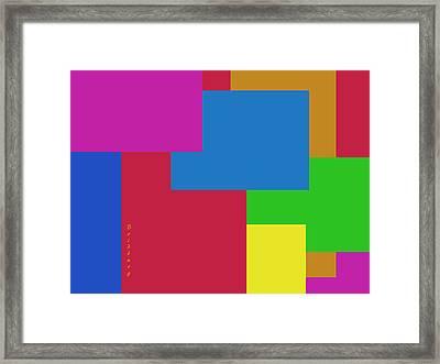 Recent 25 Framed Print