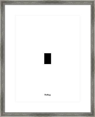 Recent 32 Framed Print