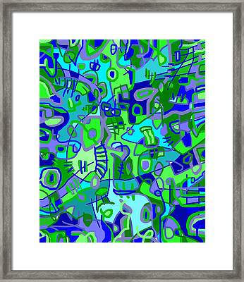 Recess Framed Print by Jeff Gater