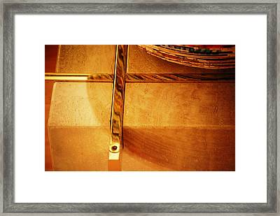 Recessed And Reflected Framed Print
