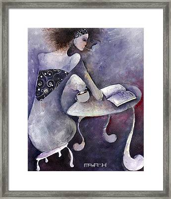 Recipies Book Framed Print