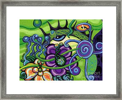 Reciprocal Liason Of The Sea II Framed Print
