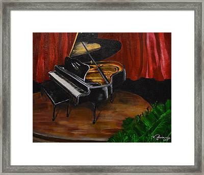 Recital Day Framed Print by Victoria McClain