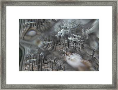 Recital For The Cold And The Eyes - Fourth Movement Framed Print