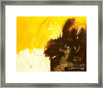 Reckless Abandon  Framed Print by Itaya Lightbourne