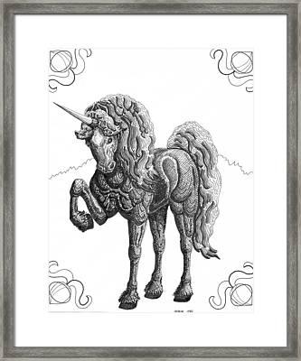 Reckoning Framed Print