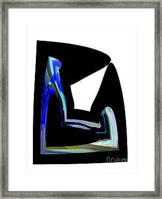 Recline Framed Print by Thibault Toussaint