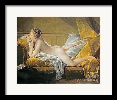 Chaise-lounge Framed Prints