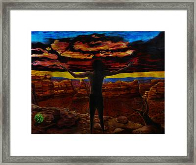 Recognition Of The Truth Framed Print by Matthew Fredricey