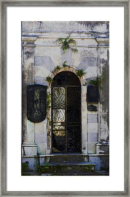 Recoleta Door Framed Print