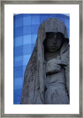 Recoleta Statue Framed Print by Marcus Best
