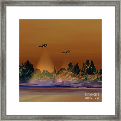 Recon Framed Print by Corey Ford