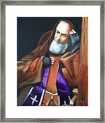 Reconciliation Framed Print by John Genuard
