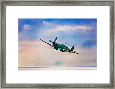 Reconnaissance Spitfire Framed Print by Chris Lord