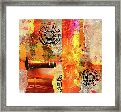 Reconstruction Abstract Framed Print