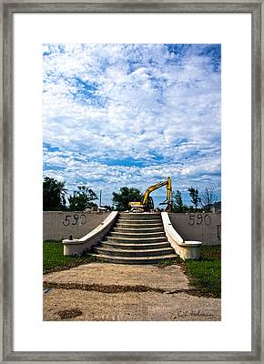 Reconstruction Framed Print by Christopher Holmes