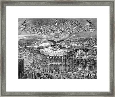 Reconstruction -- Civil War Era Framed Print by War Is Hell Store