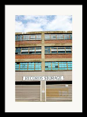 Storage Building Framed Prints