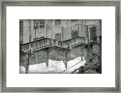 Recreation Yard Framed Print