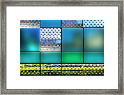 Rectangles Framed Print by Paul Wear