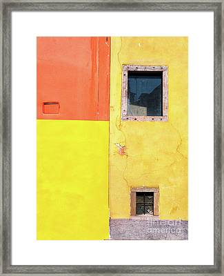 Framed Print featuring the photograph Rectangles by Silvia Ganora