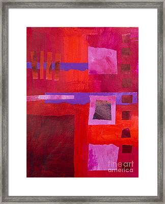 Red 1 Framed Print