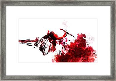 Red -1 Framed Print