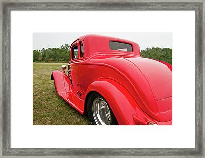 Framed Print featuring the photograph Red 1994 by Guy Whiteley