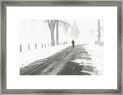 Red 2 - Framed Print