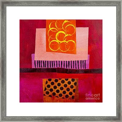 Red 3 Framed Print by Elena Nosyreva