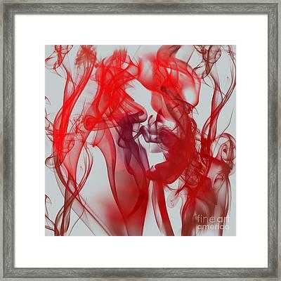 Red Alert Framed Print by Clayton Bruster