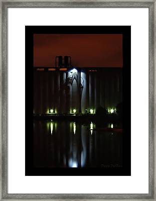 Red Alert Framed Print by Dave DelBen