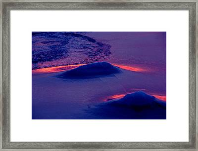 Red Alert Framed Print