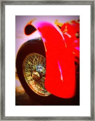 Red Allard Framed Print