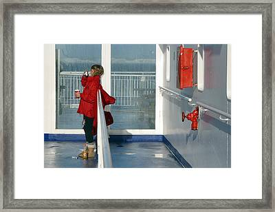 Red And Red Framed Print by Jez C Self