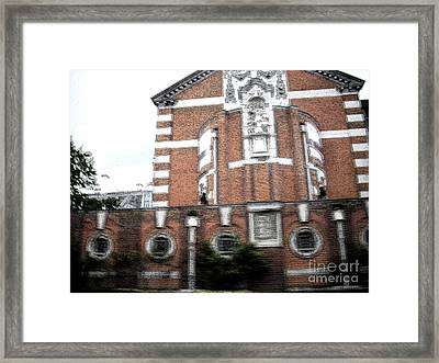 Framed Print featuring the photograph Red And White by Janelle Dey