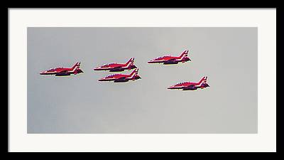 Air Display Framed Prints
