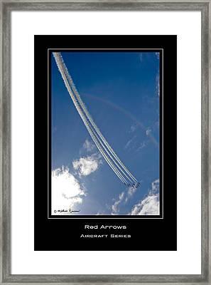 Red Arrows Framed Print by Mathias Rousseau