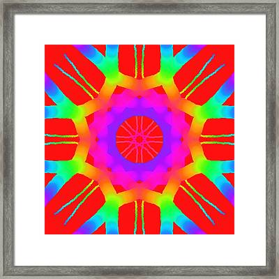 Red Ball  Framed Print by Floyd Snyder