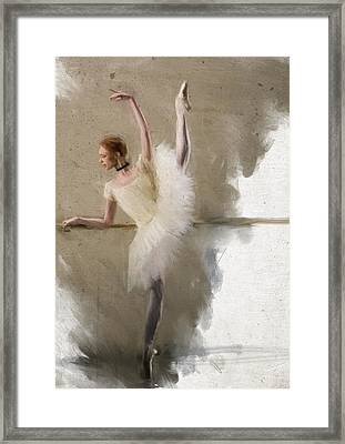 Red Barre Framed Print by H James Hoff