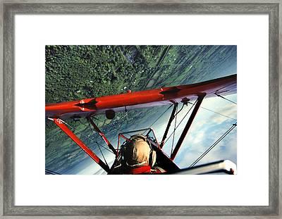 Red Barron Framed Print by Bryan Allen